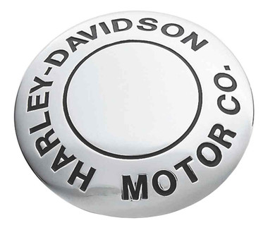 Harley-Davidson H-D Motor Co. Fuel Cap Medallion, Adhesive Backing 99539-97 - Wisconsin Harley-Davidson