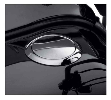 Harley-Davidson Flush-Mount Fuel Cap, Softail Blackline, Chrome Finish 61100006A - Wisconsin Harley-Davidson