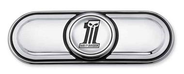 Harley-Davidson Number One Skull Transmission End Cover Trim, Twin-Cam 60826-11 - Wisconsin Harley-Davidson