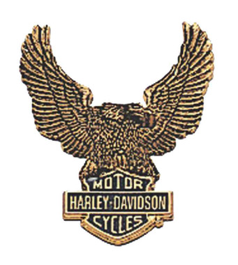 Harley-Davidson Eagle Bar & Shield Logo Self-Adhesive Medallion, Large 91811-85 - Wisconsin Harley-Davidson
