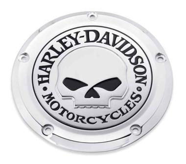 Harley-Davidson Willie G Skull Derby Cover, Fits Touring & Trike Models 25700469 - Wisconsin Harley-Davidson