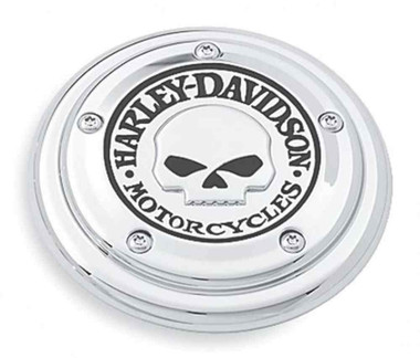 Harley-Davidson Willie G Skull Air Cleaner Trim, Evolution 1340 Models 29417-04 - Wisconsin Harley-Davidson