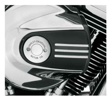Harley-Davidson H-D Motor Co. Air Cleaner Trim, Softail, Touring & Etc. 61300254 - Wisconsin Harley-Davidson