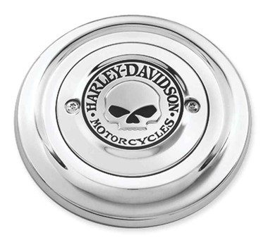 Harley-Davidson Willie G Skull Air Cleaner Trim, Fits Dyna Models 27939-08 - Wisconsin Harley-Davidson
