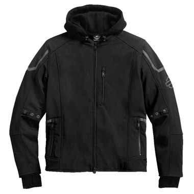 Harley-Davidson Men's Zealot 3-IN-1 Soft Shell Riding Jacket, Black 98294-17VM - Wisconsin Harley-Davidson