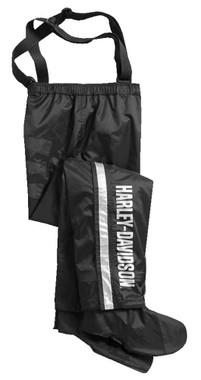 Harley-Davidson Men's Rain Pants w/ Rain Gaiter, Waterproof Nylon 98316-17VM - Wisconsin Harley-Davidson