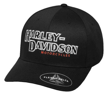 Harley-Davidson Men's Performance Iconic Delta Tech Baseball Cap 99456-17VM - Wisconsin Harley-Davidson