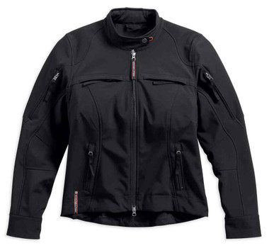 Harley-Davidson Women's Esteem Soft Shell Windproof Riding Jacket 98318-17VW - Wisconsin Harley-Davidson