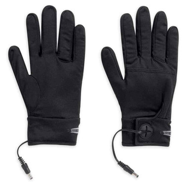 Harley-Davidson Men's Heated One-Touch Programmable 12V Glove Liner 98347-15VM - Wisconsin Harley-Davidson