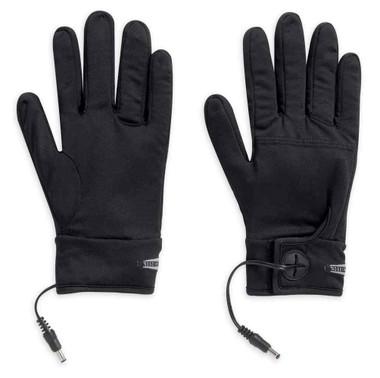 Harley-Davidson Men's Heated One-Touch Programmable 12V Glove Liner 98347-15VM - Wisconsin Harley-Davidson