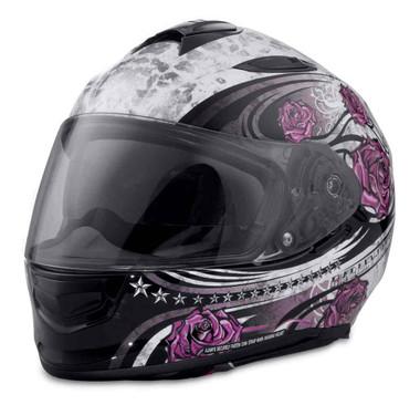 Harley-Davidson Women's Landscape AirFit Sun Shield Full-Face Helmet 98327-17VX - Wisconsin Harley-Davidson