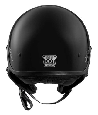 Harley-Davidson Women's Impulsive Dial Fit B03 Half Helmet, Black 98325-17VX - Wisconsin Harley-Davidson