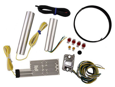 Heat Demon Motorcycle Grip Heater Kit Four-Level Controller, Chrome Right 212055 - Wisconsin Harley-Davidson
