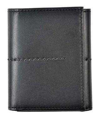 ROUT Entrepreneur Classic Tri-Fold Wallet, Full Grain Black Leather RLN30506 - Wisconsin Harley-Davidson
