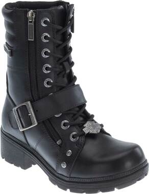 "Harley-Davidson Women's Talley Ridge 7.25"" Motorcycle Boots D83878 - Wisconsin Harley-Davidson"