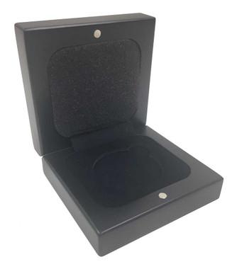 Harley-Davidson Bar & Shield Coin Box, Holds Single 1.75 in Coin, Black 8002695 - Wisconsin Harley-Davidson
