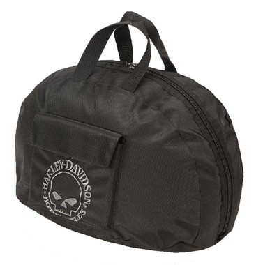 Harley-Davidson Willie G Skull Half Helmet Carry Bag Water-Resistant 99427-BLACK - Wisconsin Harley-Davidson