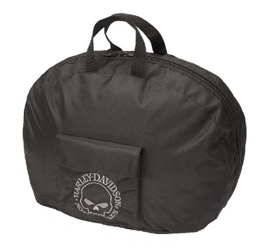 Harley-Davidson Willie G Skull Full Helmet Carry Bag Water-Resistant 99428-BLACK - Wisconsin Harley-Davidson