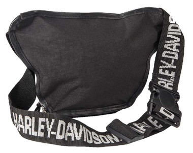 Harley-Davidson Bar & Shield Logo Belt Bag, Water-Resistant 99426-BLACK - Wisconsin Harley-Davidson