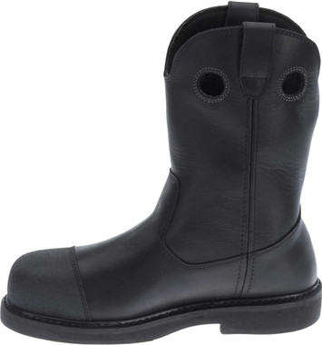 Harley-Davidson Men's Manton Waterproof Black Motorcycle Boots D93389 - Wisconsin Harley-Davidson