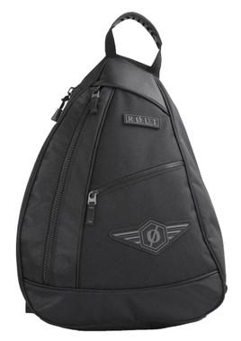ROUT Adventurer Sling Backpack, Adjustable & Padded Waist, Solid Black RBP9144 - Wisconsin Harley-Davidson