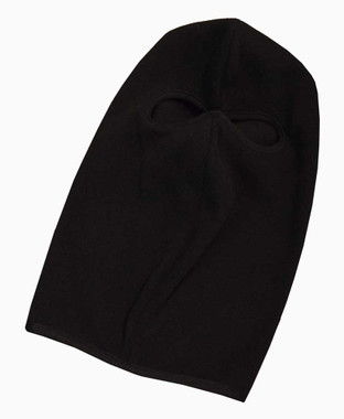 Redline Leather Unisex Full Face Head Mask, Soft Black Fleece Cloth 9003 - Wisconsin Harley-Davidson