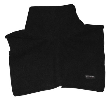 Redline Unisex Neck & Chest Warmer Gaiter, Soft Black Fleece 9001 - Wisconsin Harley-Davidson