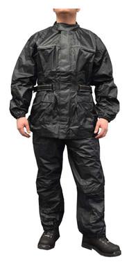 Redline Unisex 2-Piece Motorcycle Rain Suit, Waterproof w/ Heat Seams M-RHR66 - Wisconsin Harley-Davidson