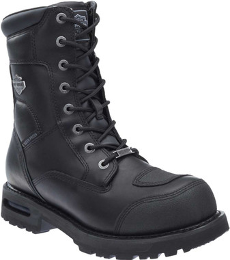 Harley-Davidson Men's Richfield Black Performance Motorcycle Boots D96121 - Wisconsin Harley-Davidson