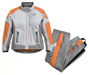Harley-Davidson Women's Midpoint Colorblock Waterproof Rain Suit 98203-17VW - Wisconsin Harley-Davidson