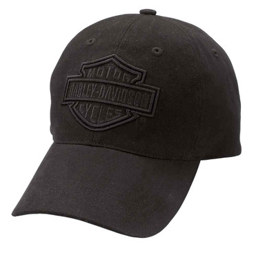 Harley-Davidson Men's Phantom Bar & Shield Logo Baseball Cap, Black 99415-16VM - Wisconsin Harley-Davidson