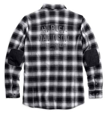 Harley-Davidson Men's Black Label Reinforced Riding Shirt Jacket 98192-17VM - Wisconsin Harley-Davidson