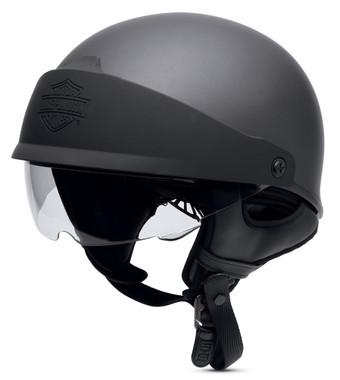 Harley-Davidson Men's Roam Adjustable Fit Low Profile J06 Half Helmet 98188-17VX - Wisconsin Harley-Davidson