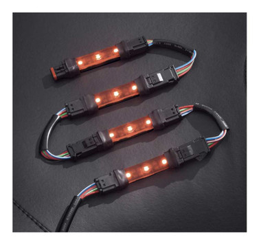 Harley-Davidson Spectra Glo LED Light Flexible Pod 4-Lamp Expansion Kit 68000214 - Wisconsin Harley-Davidson