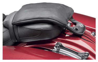 Harley-Davidson Road Zeppelin Seat Passenger Pad, 12 x 9 inches, Black 52400162 - Wisconsin Harley-Davidson