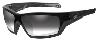 Harley-Davidson Men's Backbone Light Adjusting Sunglasses, Black Frame HDBAC05 - Wisconsin Harley-Davidson