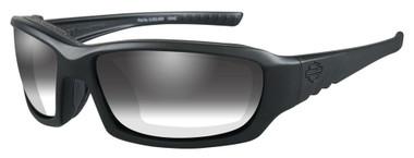 Harley-Davidson Men's Gem Light Adjusting Sunglasses, Matte Black Frame HDGEM03 - Wisconsin Harley-Davidson