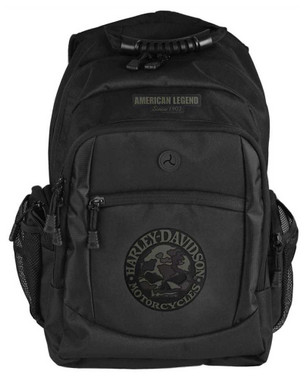 Harley-Davidson 3D Willie G Skull Classic Camo Backpack, Black BP3025S-CAMBLK - Wisconsin Harley-Davidson