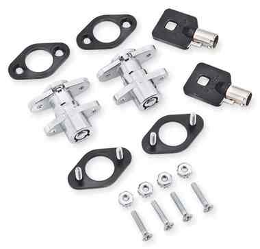Harley-Davidson Universal Saddlebag Lock Kit, Set of Two Keys & Locks 90300017 - Wisconsin Harley-Davidson