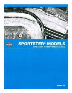 Harley-Davidson 2016 Sportster Models Electrical Diagnostic Manual 99495-16A - Wisconsin Harley-Davidson