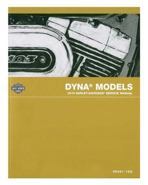 Harley-Davidson 2016 Dyna Models Motorcycle Service Manual 99481-16A - Wisconsin Harley-Davidson