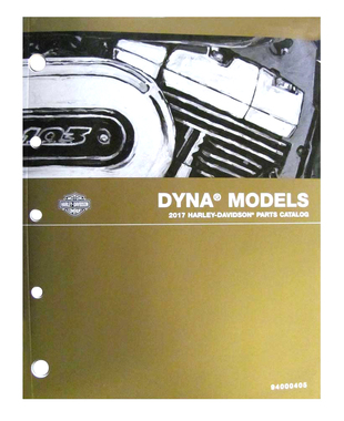 Harley-Davidson 2017 Dyna Models Electrical Diagnostic Manual 94000394 - Wisconsin Harley-Davidson
