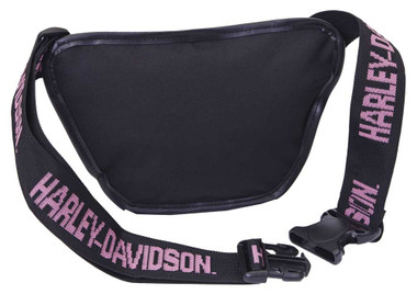 Harley-Davidson Pink Bar & Shield Logo Belt Bag, Water-Resistant 99426-PINK - Wisconsin Harley-Davidson