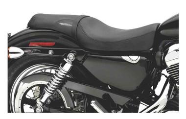 Harley-Davidson Badlander Seat, Fits XL Models w/ 2.2, 3.3 Gallon Tanks 51747-07 - Wisconsin Harley-Davidson