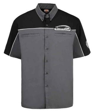 Harley-Davidson Mens Screamin' Eagle Top Speed Embroidered Crew Shirt HARLMW0058 - Wisconsin Harley-Davidson