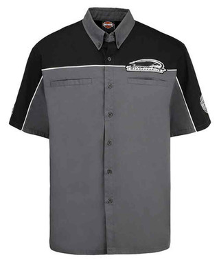 Harley-Davidson Mens Screamin' Eagle Top Speed Embroidered Crew Shirt HARLMW0058 - Wisconsin Harley-Davidson