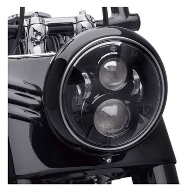 Harley-Davidson 7 in Daymaker Projector LED Headlamp - Gloss Black 67700266 - Wisconsin Harley-Davidson