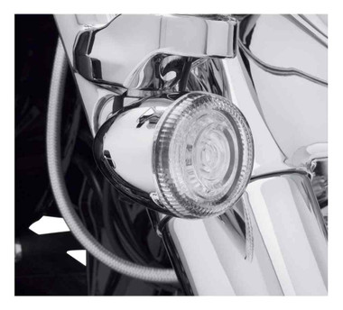Harley-Davidson Lenses For LED Bullet Turn Signal Insets - Clear 67800644 - Wisconsin Harley-Davidson