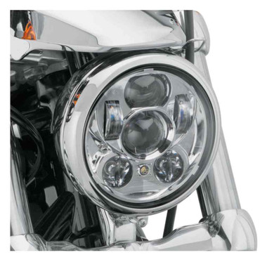 Harley-Davidson 5.75 in Daymaker Projector LED Headlamp - Chrome 67700144A - Wisconsin Harley-Davidson