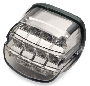 Harley-Davidson LED Tail Lamp Layback Smoke Lens w/ No Plate Window 67800358 - Wisconsin Harley-Davidson